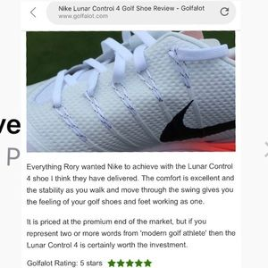 e64a3a232067 Nike Shoes - 🏌 ♀ Nike Lunar 4 Golf Shoe